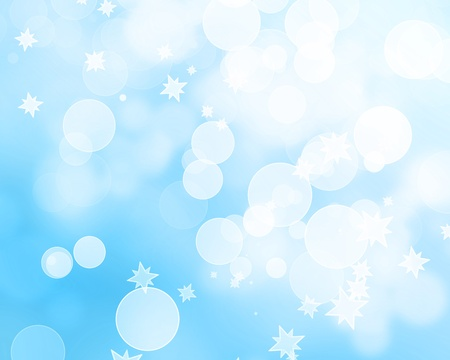 Winter background with added glitter and bokeh effects Stock Photo - 15612601