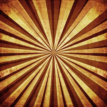 sunbeam: Vintage background with several lines beaming out