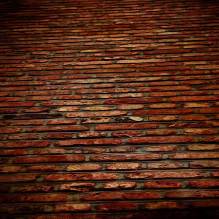 Grunge brick wall with some damage and cracks Stock Photo - 15752822