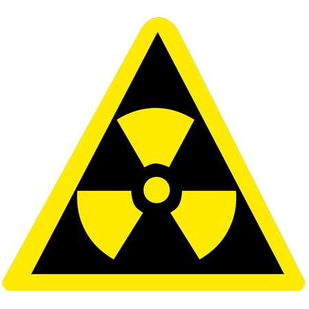 Nuclear sign representing the danger of radiation Stock Photo - 15752622