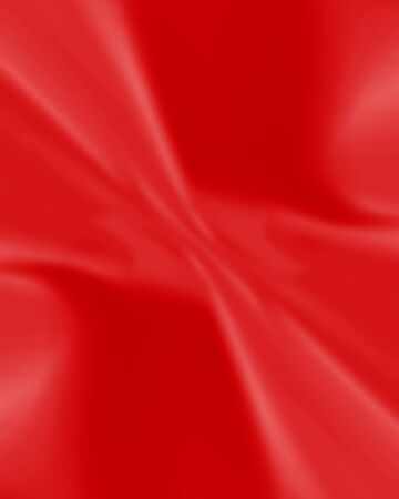 Red silk background with some soft folds and highlights photo