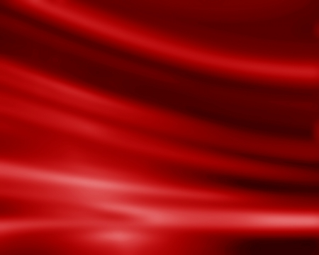 velvet: Red silk background with some soft folds and highlights