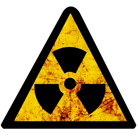 Nuclear sign representing the danger of radiation Stock Photo - 16419875