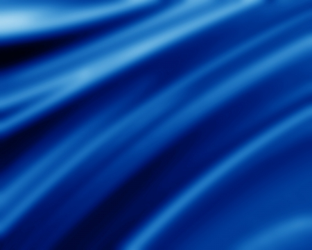 silky velvet: Blue silk background with some soft folds and highlights