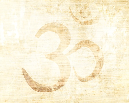 Om symbol with some smooth lines and highlights Stock Photo - 16491176