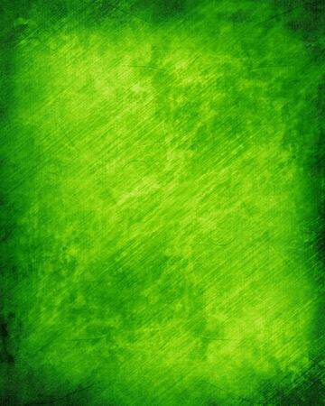 st: Green and fresh background with soft highlights and lines Stock Photo