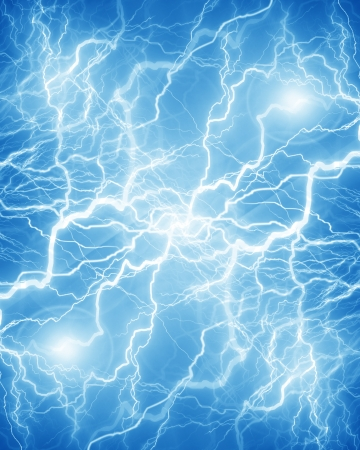 discharge: Intense electrical discharge on a dark background