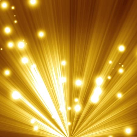 Golden christmas of feestelijke achtergrond met zachte highlights en schaduwen Stockfoto