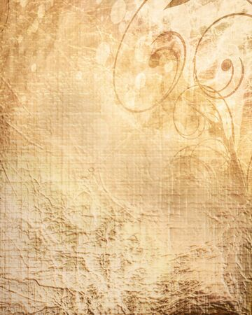 Old paper texture with spots, stains and soft folds Stock Photo - 18102825