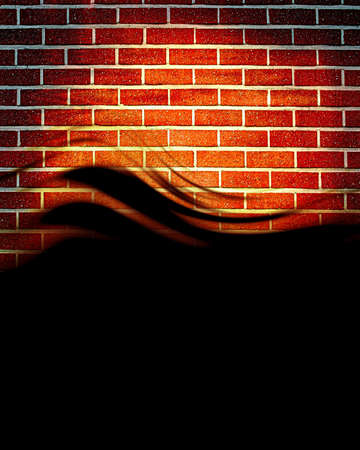 Grunge brick wall with some damage and cracks Stock Photo - 18102713