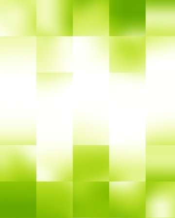 Green and fresh background with soft highlights and sparkles Stock Photo - 18101731
