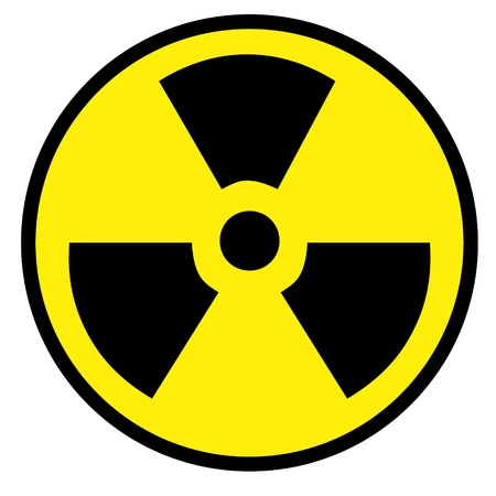 Nuclear sign representing the danger of radiation  Stock Photo - 18101823
