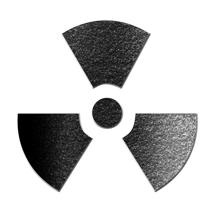 Nuclear sign representing the danger of radiation Stock Photo - 18102320