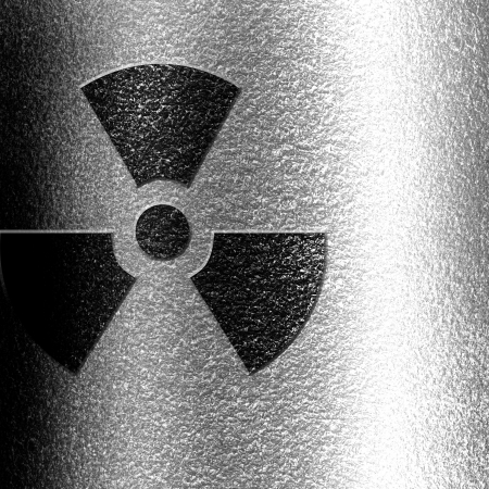 Nuclear sign representing the danger of radiation  Stock Photo - 18102877