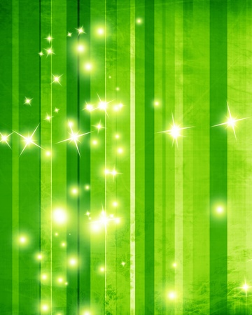 Green and fresh background with soft highlights and sparkles Stock Photo - 18102393