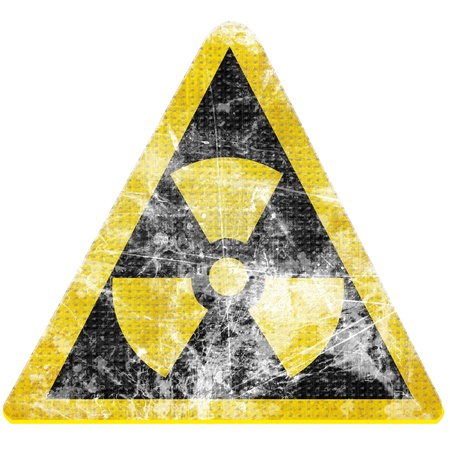 Nuclear sign representing the danger of radiation Stock Photo - 18102822