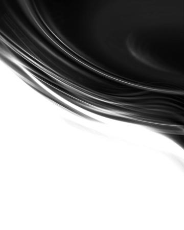 シルクやサテン素材ラインを振って塗料、キャンバス布に似た黒の背景