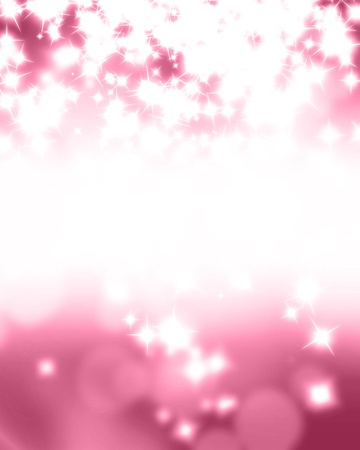 glittery: Pink glitters on a soft blurred background with smooth highlights