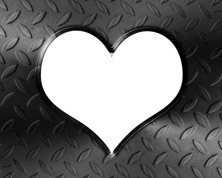 Metallic heart with some soft reflections and highlights Stock Photo - 18102416