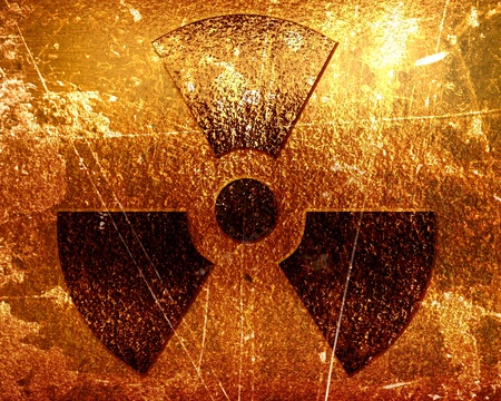 Nuclear sign representing the danger of radiation Stock Photo - 18102879