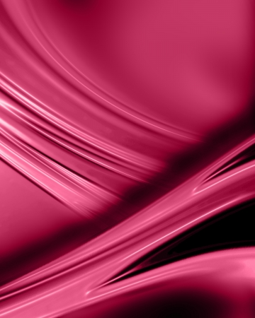 artsy: pink silk or satin with some smooth folds in it Stock Photo