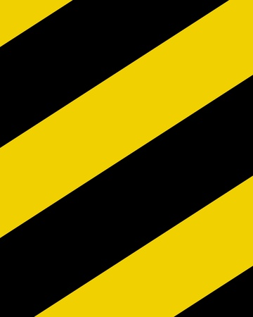 hazard stripes: Black and yellow hazard lines with soft highlights