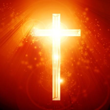 cruz roja: El cristianismo la representaci?n con el s?mbolo de una cruz