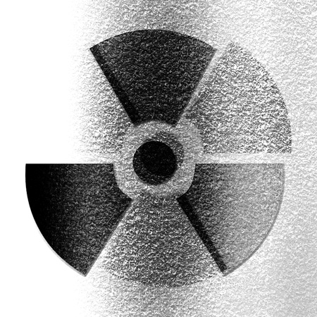 Nuclear sign representing the danger of radiation  Stock Photo - 21879797