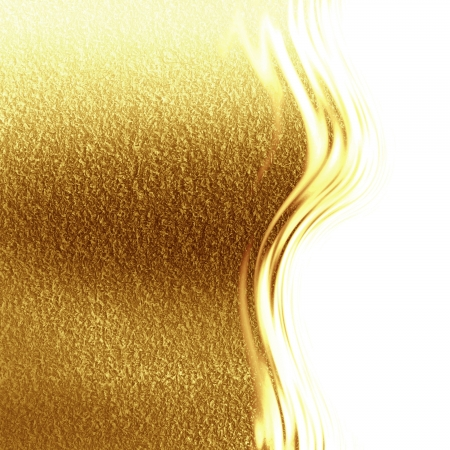 Golden background with some reflected light and highlights Stock Photo - 21879681