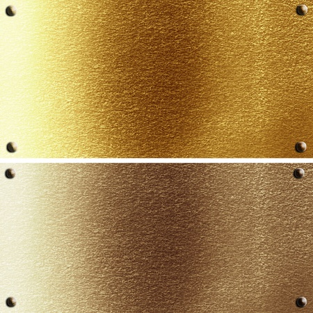 panels in different materials with some fine grain in it photo