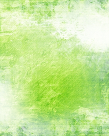 patricks: Green and fresh background with soft highlights and lines Stock Photo