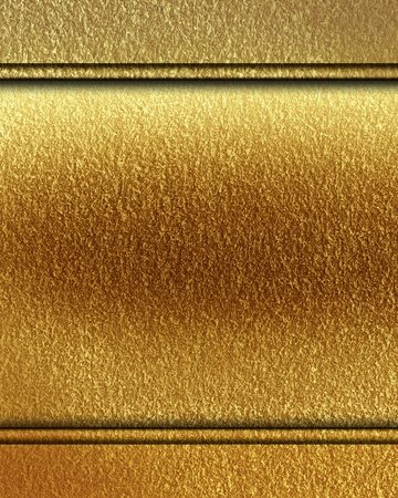 golden panel with some stains on it Stock Photo - 21881938