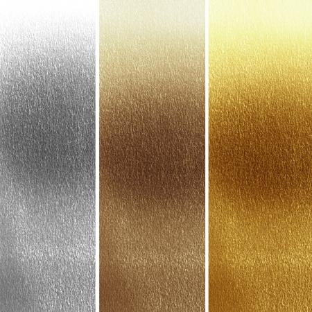 それにいくつかの細粒度の異なる材料でパネル 写真素材