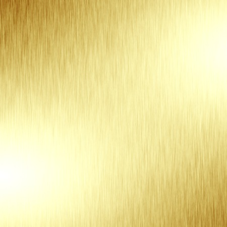 bronze background: golden panel with some fine grain in it Stock Photo