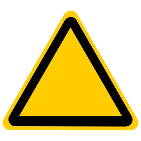 empty road sign isolated on a solid white background Stock Photo - 22226396