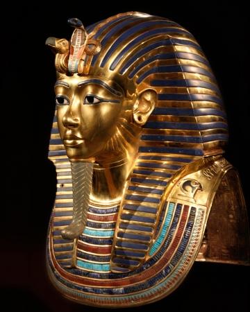 Replica della maschera di sepoltura di Tut Ankh amon Archivio Fotografico - 22347866