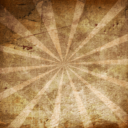 abstract brown background with some rays on it Stock Photo