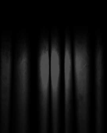 movie theater: movie or theater curtains with some folds in it Stock Photo