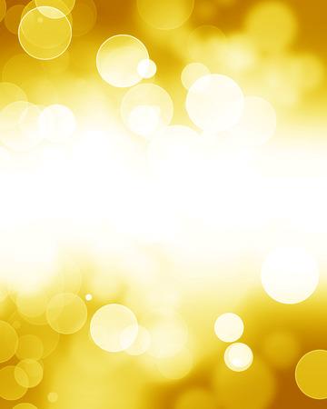 柔らかい滑らかな背景をぼかした写真の黄金輝くハイライトします。 写真素材