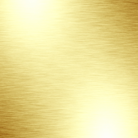 gold textured background: golden panel with some fine grain in it Stock Photo