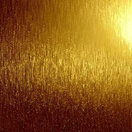 hard alloy: golden panel with some fine grain in it Stock Photo
