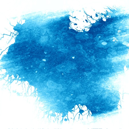 blue paint background with some smooth lines in it photo