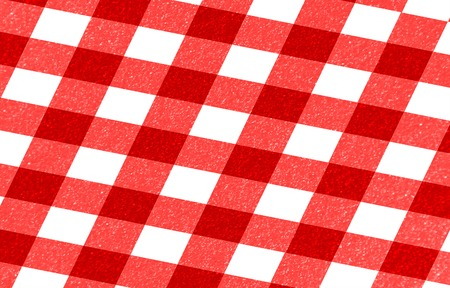 red picnic cloth with some squares in it Stock Photo - 22619667