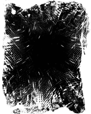 layer masks: grunge black and white frame with some spots and stains on it