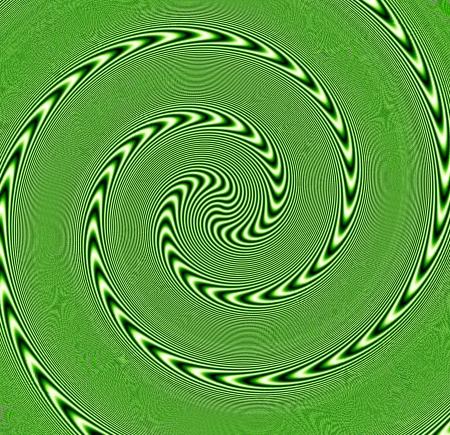 illusion d'optique: abstrait numérique avec un effet psychédélique Banque d'images