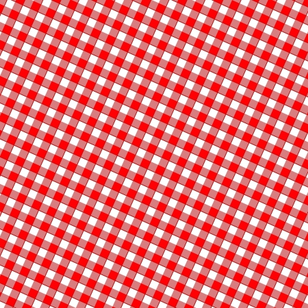 red picnic cloth with some squares in it Stock Photo - 23567491