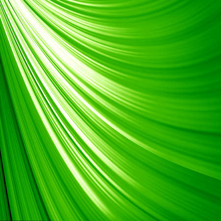 abstract green background with some bright rays in it photo