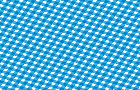 blue picnic cloth with some squares in it photo