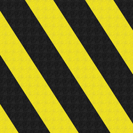 hazard stripes: construction sign with some highlights and shades on it
