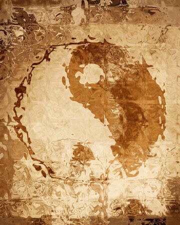 chinese philosophy: Yin Yang sign with some highlights and reflections